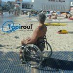 Tapis accès plage Mobi-Mat® Tapiroul® pour PMR