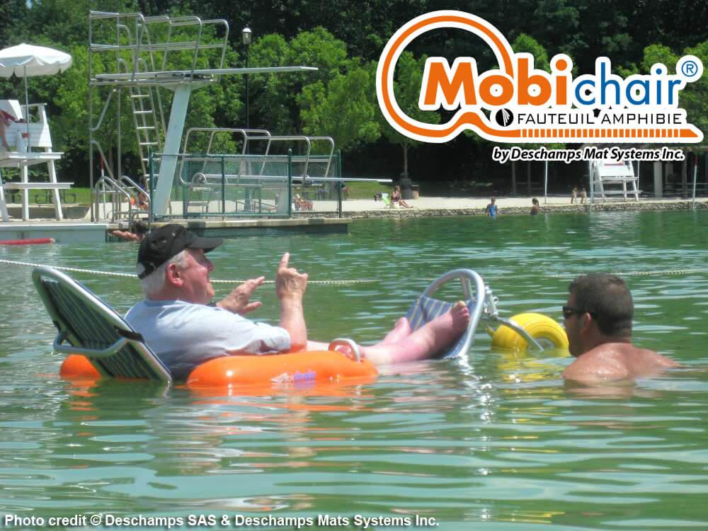 Mobi chair fauteuil amphibie de plage - Piscine obi 2017 ...